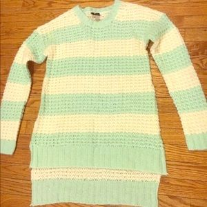 Rue 21 Open Knit Crewneck Sweater - Size M